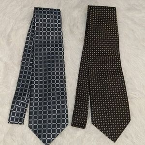 ROBERT TALBOTT Best Of Class Ties Lot of 2